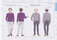 Character Profile Oda and History Teacher