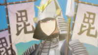 EP2 Fuutarou in Sengoku armor
