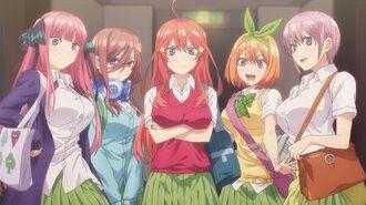 5Toubun no Hanayome Anime PV