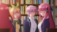 EP7 Itsuki & Yotsuba & Ichika & Nino