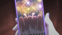 EP5 Young Nakano quintuplets watching firework