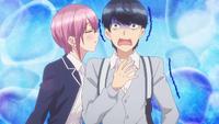 EP6 Ichika flows into Fuutarou's ears