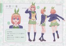 Character Profile Yotsuba Nakano 1