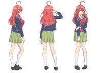 Itsuki Nakano design draft