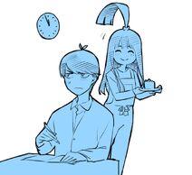 Negi Haruba's Fuutarou April 15 birthday sketch
