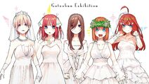 Gotoubun Exhibition Art