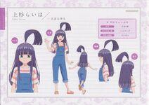 Character Profile Raiha Uesugi