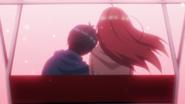 EP12 Fuutarou collapses on Itsuki