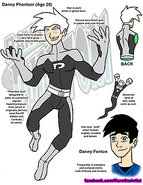 Danny Phantom Concept Art