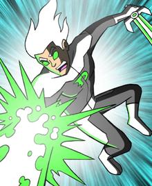 Danny blast w sword