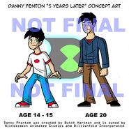 Danny Fenton Concept Art