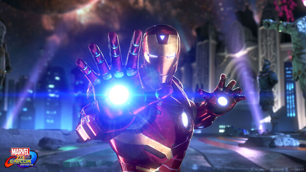 Marvel Vs. Capcom: Infinite Roster Iron Man