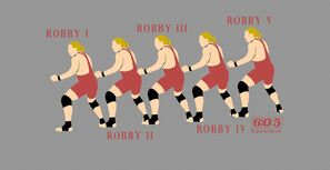 Robby V (art by Travis Heckel - April 13, 2016)