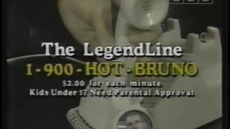 1-900 Hot Bruno Commercial