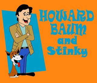 Howard Baum and Stinky (art by Travis Heckel)