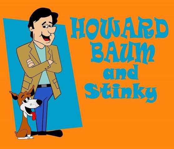 File:Howard Baum and Stinky (art by Travis Heckel).jpg