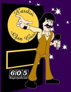 Rasslin Glen Goza cartoon