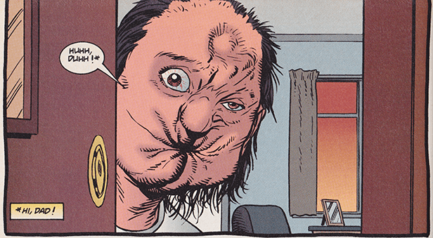 Arseface, from the Preacher comics