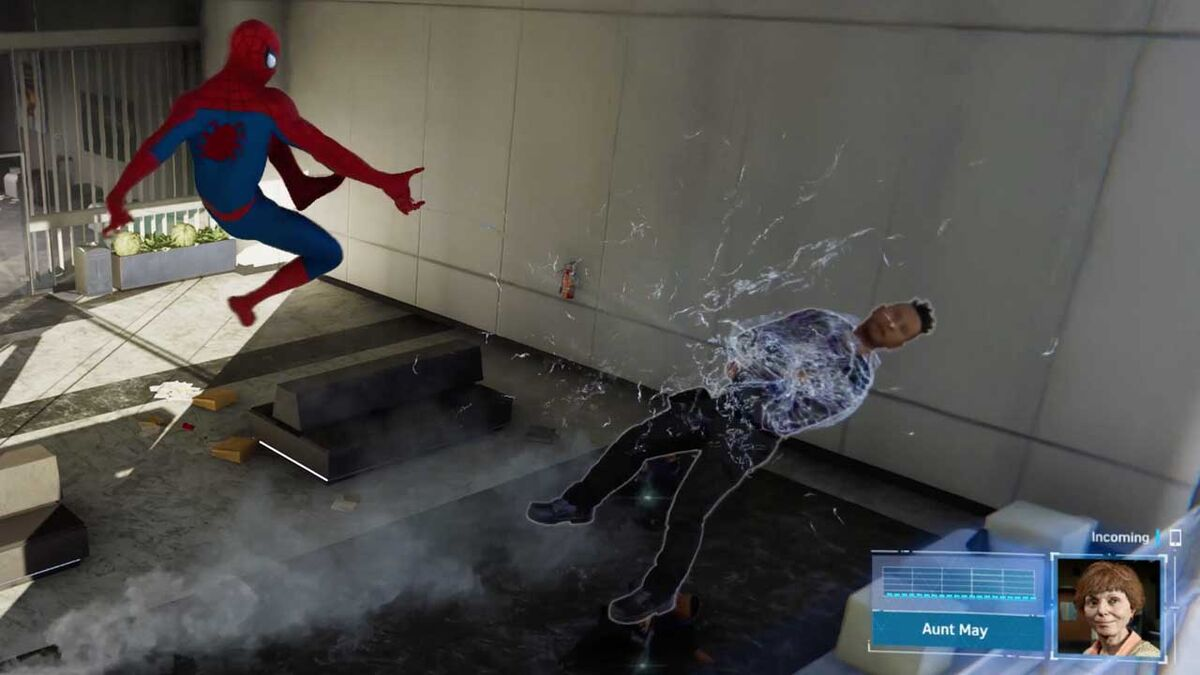 Web Shooter air combo Spider-Man PS4 2018 gadgets game