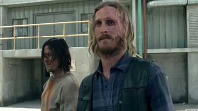 'The Walking Dead' Season 8: Inside Daryl and Dwight's 'Cat-and-Mouse Game'