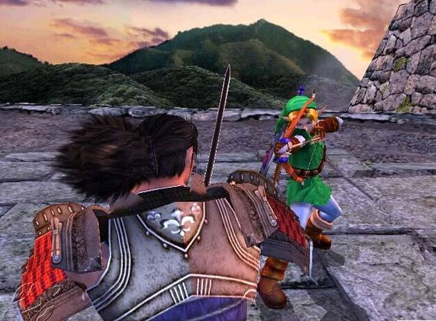 Soul Calibur 2 - Link