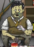 Chory Szalony i chyba strudzony Ted