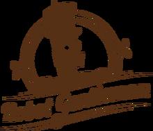 Robot Gentleman Logo (Brown)