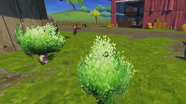 Fortnite Mobile tip. Not every bush is a player.