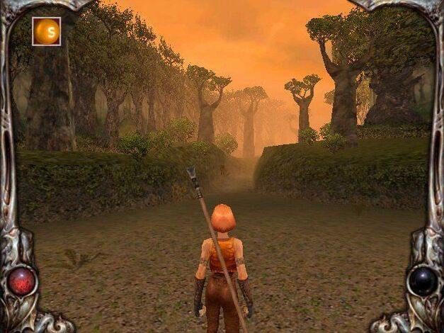 A screenshot of Darkened Skye.