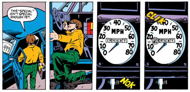 """I think the kids will get a real kick out of the odometer scene!"""