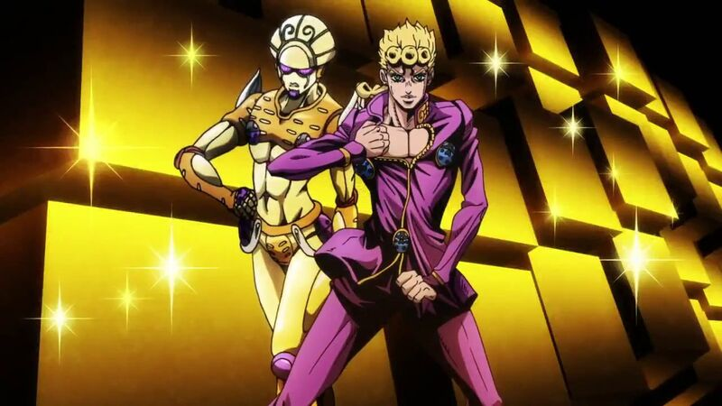 Image result for JoJo's Bizarre Adventure: Golden Wind