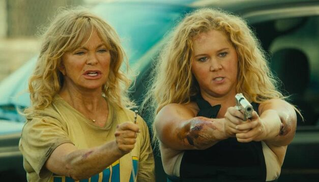 snatched movie review goldie hawn amy schumer