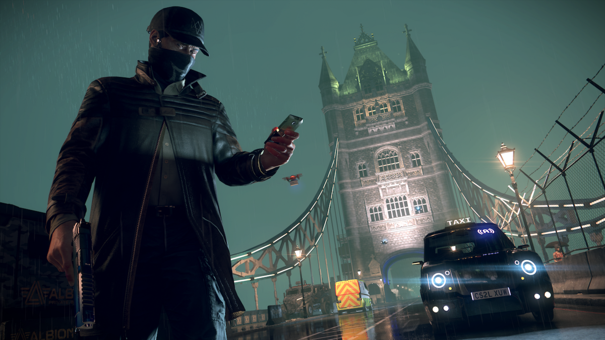 Aiden Pearce in London