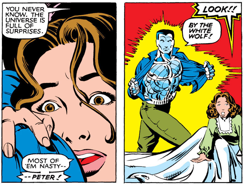 Still, not the creepiest romance in the Marvel Universe.