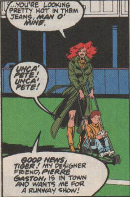 One of the few times a man is objectified in a comic book.