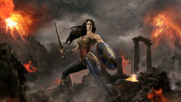 Wonder Woman Injustice Gods Among Us