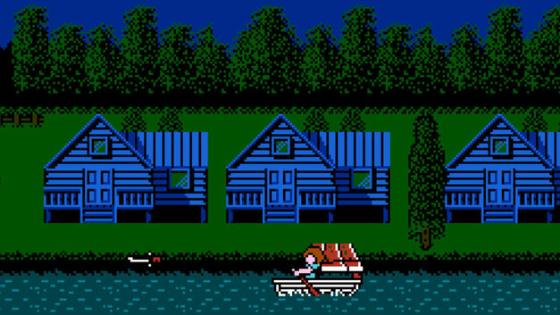 Image result for nes friday the 13th fanart
