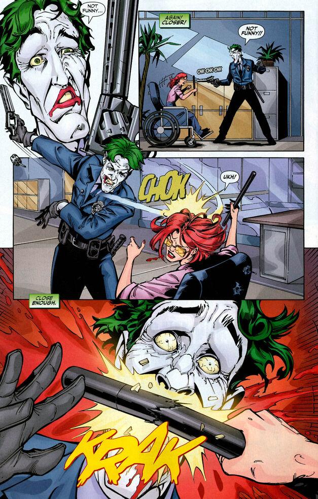 joker vs barbara gordon