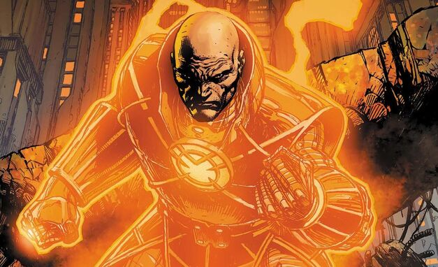 Lex Luthor Orange Lantern Corps