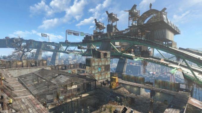 Fallout 4 Graygarden Overpass Settlement