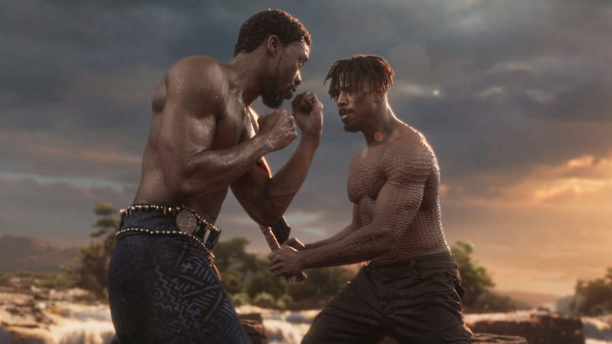 Black Panther Killmonger Warrior Falls