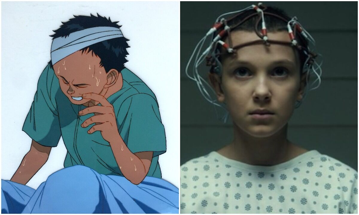 Tetsuo from Akira vs Eleven from Stranger Things