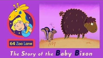 64 Zoo Lane - the Baby Bison S03E21 Cartoon for kids