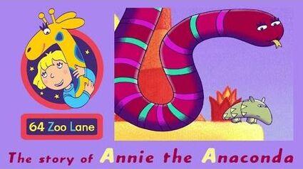 64 Zoo Lane - Annie the Anaconda S02E26 HD Cartoon for kids
