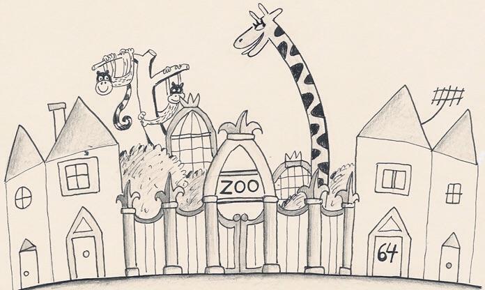 Image Early Drawing Of 64 Zoo Lane Jpg 64 Zoo Lane Wiki Fandom
