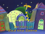 The Story of Zed the Zebra