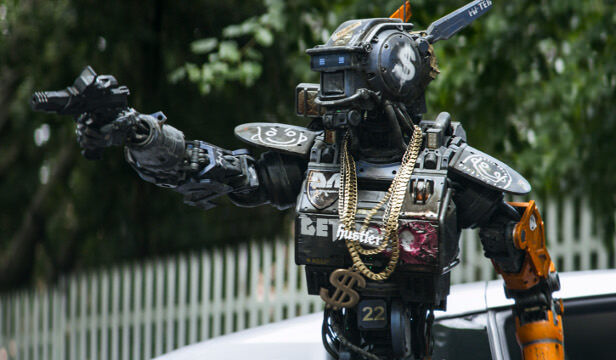 Chappie (Sharlto Copley) from Columbia Pictures