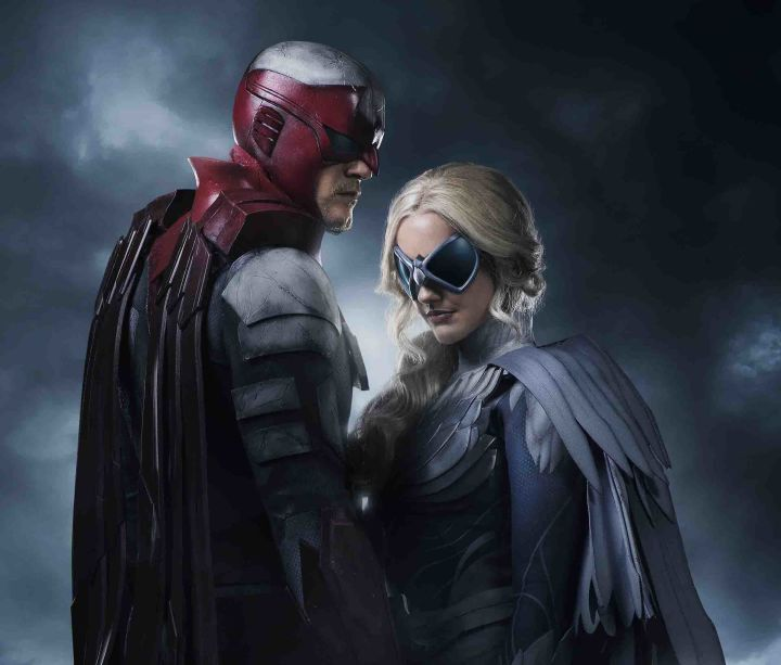 Hawk and Dove from Titans