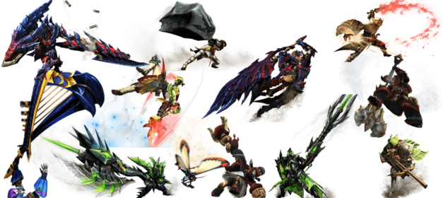 Monster-Hunter-Generations-Weapon-Types