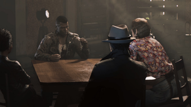 A sitdown with the underbosses in Mafia III